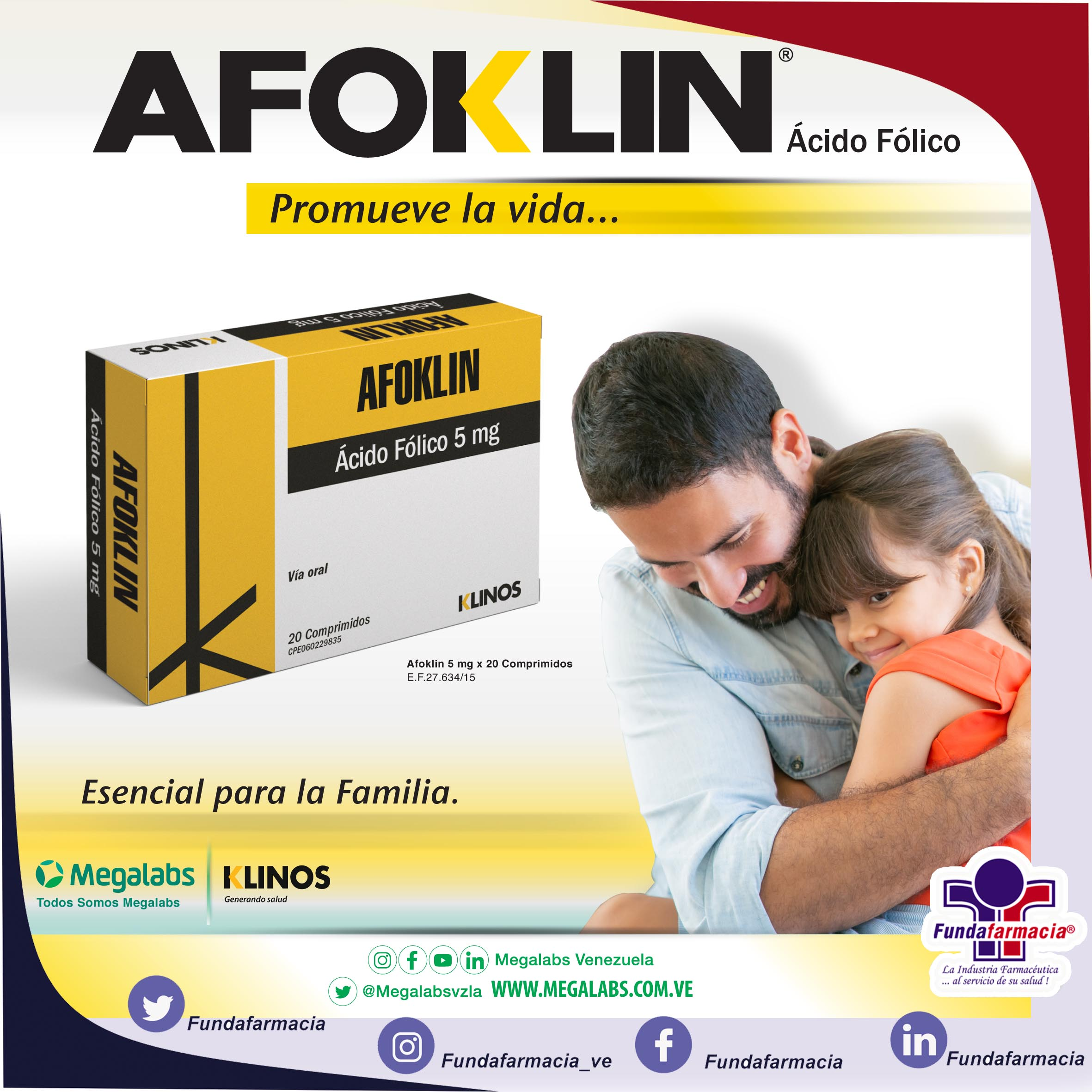 AFOKLIN 5MG X 20 COMP